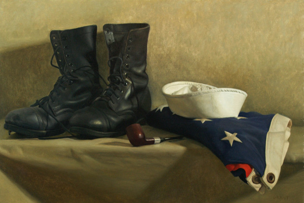 Danny Grant, Sailors Tribute, oil, 24 x 16.