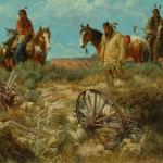 Dan Bodelson, Journey's End, oil, 36 x 48.
