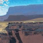 Len Chmiel, Layers, oil, 12 x 16.