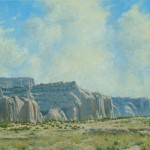 Dan Bodelson, Near Gallup, NM, oil, 24 x 30.
