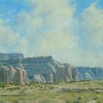 Dan Bodelson, Near Gallup, NM, oil, 24 x 30.
