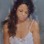 Ilene Gienger-Stanfield, Repose, pastel, 31 x 22.