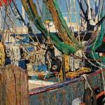 Timur Akhriev, Resting, oil, 18 x 30.