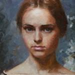 Brittany Weistling, Josephine, oil, 12 x 9.