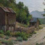 D. LaRue Mahlke, Patchwork, pastel, 18 x 24.