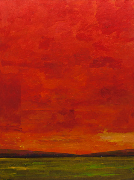 Mark Bowles, The First Hot Day of Summer, acrylic, 48 x 36.