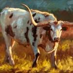 Cheri Christensen, Up Close and Personal, oil, 40 x 60.