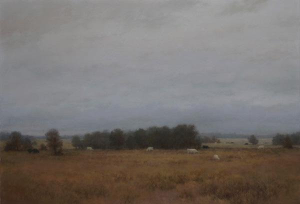 D. LaRue Mahlke, New Every Morning, pastel, 19 x 28.