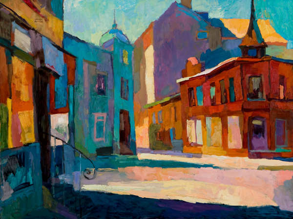Larisa Aukon, Dreamlike, oil, 30 x 40.