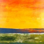 Mark Bowles, Landscape #72, acrylic, 60 x 60.