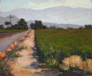 Walter Porter, Rural, oil, 10 x 12.