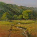 Marla Smith, Pecos NM Meadow, oil, 10 x 8.