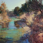Jill Carver, Texas Gold, oil, 30 x 36.