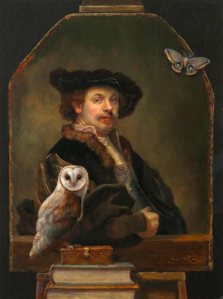 William Suys, Perceptions, oil, 24 x 18.