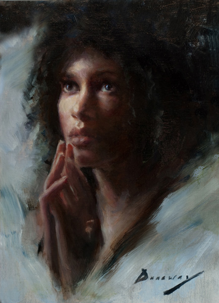 Michelle Dunaway | Faithfulness, oil, 16 x 12.