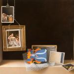 Scott Fraser | Catenary Curve, oil, 59 x 72.