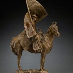 Herb Mignery, The Colors of a Cowboy, bronze, 32 x 10 x 17.
