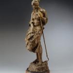 Herb Mignery, Dusty Winds, Dainty Lace, bronze, 46 x 14 x 18.