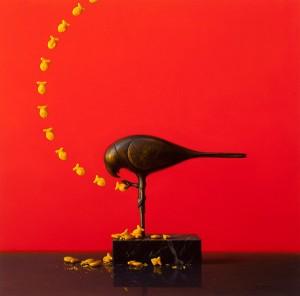 Scott Fraser | Goldfish Arc, oil, 22 x 22.