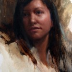 Michelle Dunaway | Hopefulness, oil, 16 x 12.