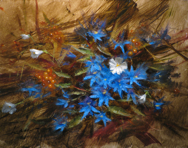 Jeff Legg, Garden Bounty, oil, 16 x 20.