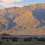 Charles Muench | Inyo Mountains Sunset, oil, 20 x 32.