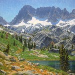 Charles Muench | Sierra Classic, oil, 40 x 40.