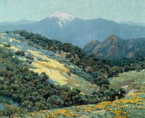 Granville Redmond, Valley Splendor, oil, 20 x 25. Estimate: $150,000-$250,000.