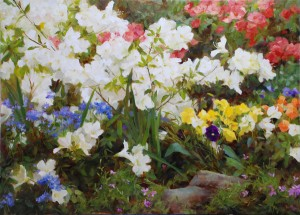 Kathy Anderson | Spring Rainbow, oil, 26 x 36.
