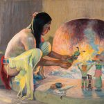 E.I. Couse, Kachina Maker, oil, 24 x 29. Estimate: $200,000-$300,000.