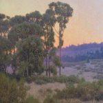 Dennis Doheny, Twilight, oil, 24 x 20.