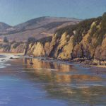 Dennis Doheny, Dropping Tide, oil, 20 x 24.