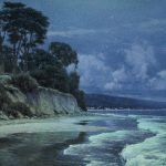 Dennis Doheny, Loon Point Nocturne, oil, 24 x 30.