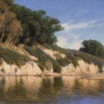 Dennis Doheny, Midday Bluffs, oil, 20 x 24.
