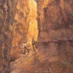 Todd A. Williams, Frank Shoemaker 1911, Devil's Den, Sioux County, oil, 36 x 24.