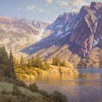 Dennis Doheny, Ellery Lake—Tioga Pass, oil, 36 x 40.