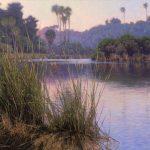 Dennis Doheny, Still Dawn, oil, 20 x 24.