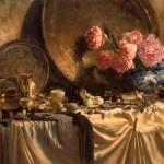 Carla Louise Paine, Susan's Shoes, oil, 30 x 48.