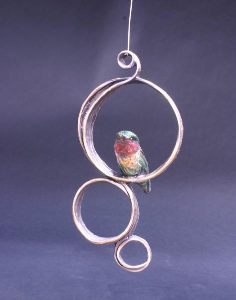 Pati Stajcar, Humm Dinger, bronze, 2 x 4 x 4.