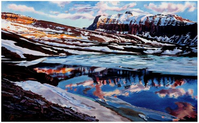 Summer Ice by Jennifer Annesley