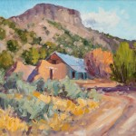 Clarence Medina, Abandoned, oil, 24 x 30.
