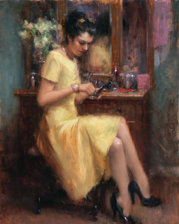 Bryce Cameron Liston, All That Glitters, oil, 30 x 24.