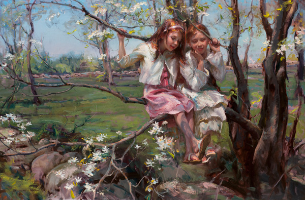 Daniel Gerhartz, All Things New, oil, 40 x 60.