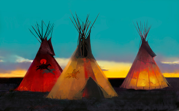 Tom Gilleon, Altos Llanos, oil painting