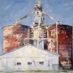 Richard Alan Nichols, Americana, oil, 30 x 40.