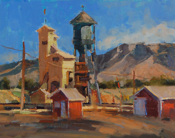Ann Larsen, Ely Relics, oil, 11 x 14.