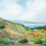 Anna Hills, Spring in Laguna, 1915, oil, 27 x 37. Collection of Ranney and Priscilla Draper.