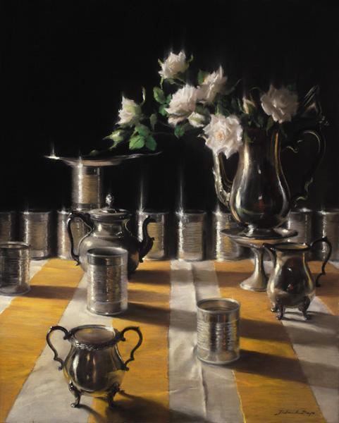 Deborah Bays, Aboreal, pastel, 30 x 24.