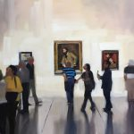 Heather Arenas, Thirteen, oil, 24 x 36.