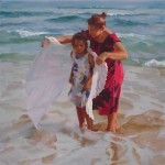 Mike Malm, Arms of Comfort, oil, 40 x 36.